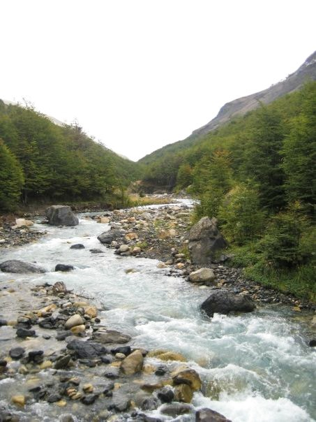 patagonia-chile-hike-river-crossing